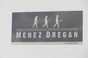 Logo du site archéologique de Menez Dregan à Plouhinec (29)