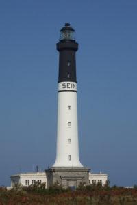 Le phare de Goulenez à l'île de Sein