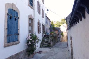Une ruelle dans le vieil Audierne
