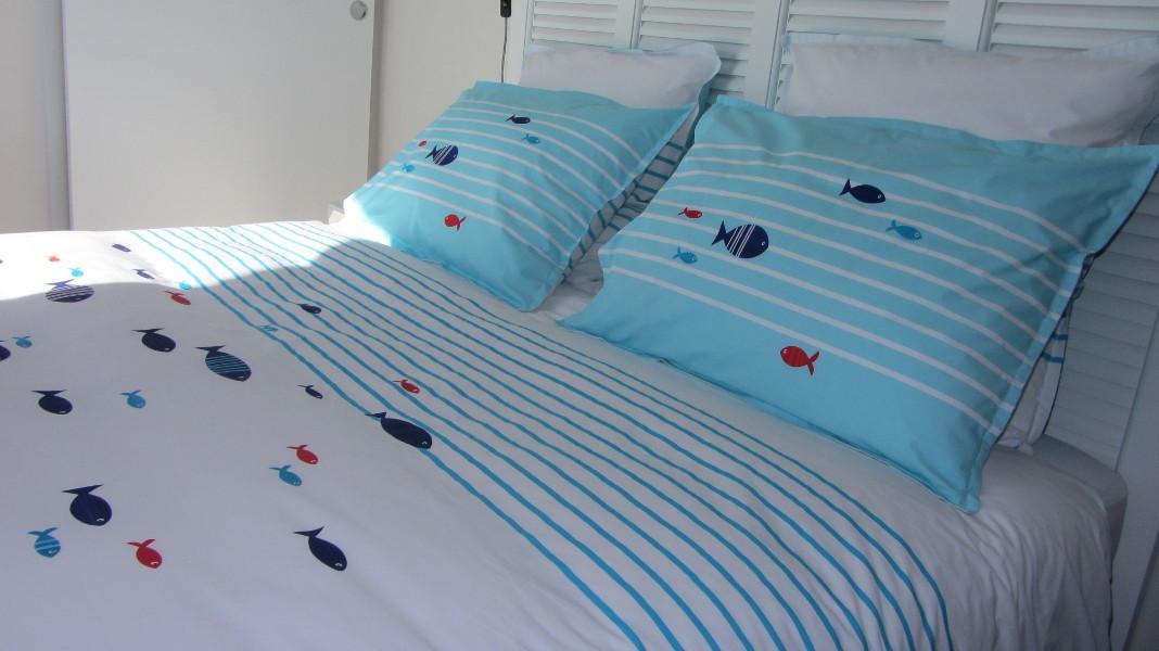 Appartement de vacances avec lits faits à l'arrivée