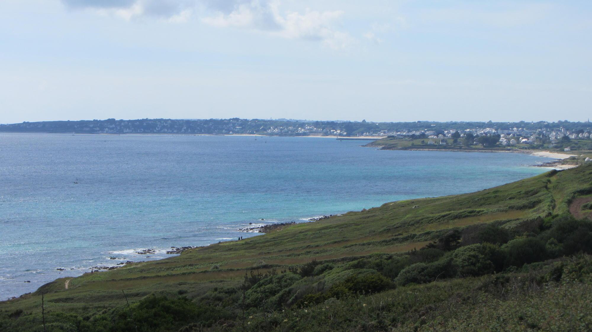 L'océan et la côte de Plouhinec à Audierne