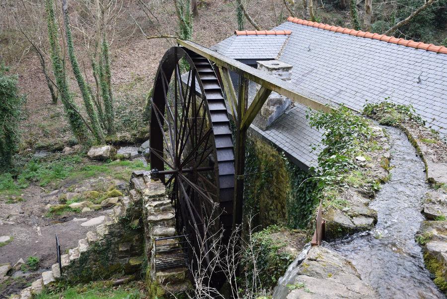 Le moulin à eau de Beuzec-Cap-Sizun